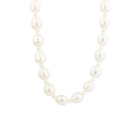 Online Exclusive - Necklace with Cultured Freshwater Pearl in Sterling Silver