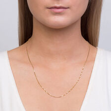 "50cm (20"") Box Chain in 10ct Yellow Gold"