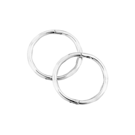 12mm Sleepers in Sterling Silver