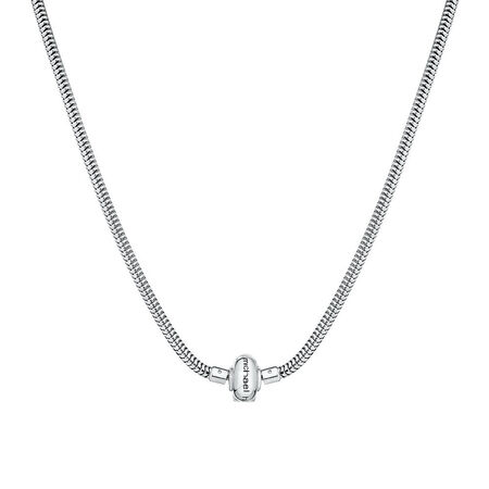 "Sterling Silver 50cm (20"") Charm Lariat Necklace"