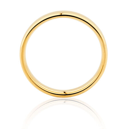 Wedding Band in 14ct Yellow Gold