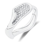 Spirits Bay Ring with 0.34 Carat TW of Diamonds in Sterling Silver