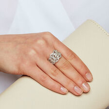 Ring with 1 1/2 Carat TW of Diamonds in 14ct Yellow Gold