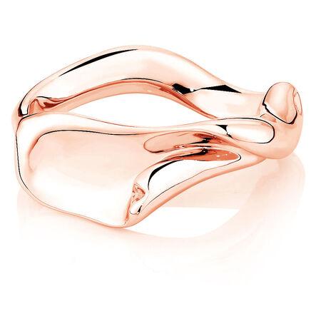 Spirits Bay Ring in 10ct Rose Gold