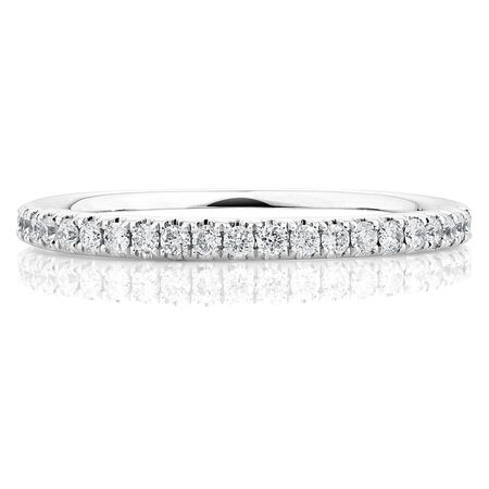 Sir Michael Hill Designer GrandAllegro Wedding Band with 0.40 Carat TW of Diamonds in 14ct White Gold