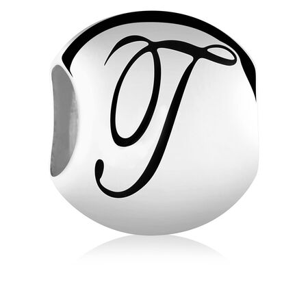 Sterling Silver 'T' Charm