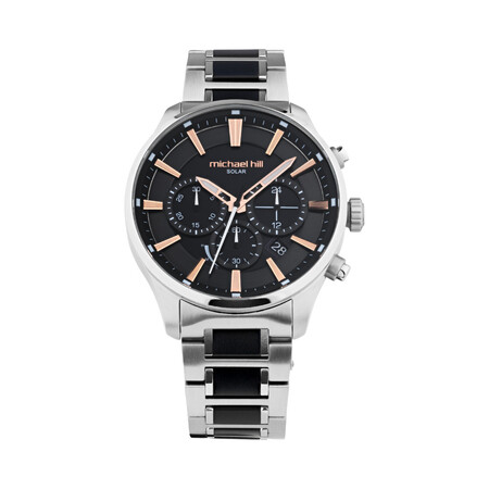Men's Watch with Black Tone in Stainless Steel