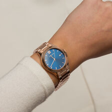 Ladies Watch in Rose Tone Stainless Steel
