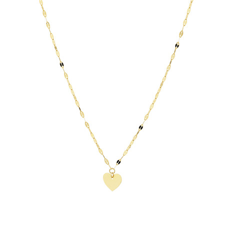 Adjustable Choker in 10ct Yellow Gold