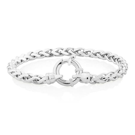 "19cm (7.5"") Bracelet in Sterling Silver"