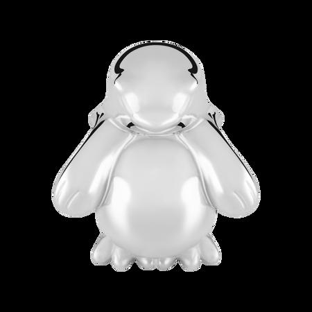 Sterling Silver Penguin Charm