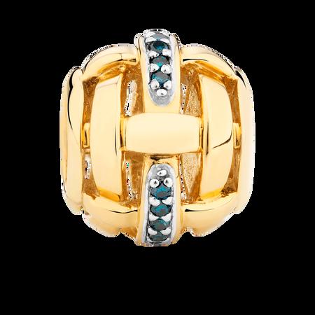 Enhanced Blue Diamond Set Marrakesh Charm