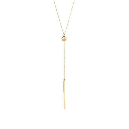 """48cm (18"""") Necklace in 10ct Yellow Gold"""