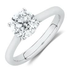 Southern Star Solitaire EngagementRing with 1.5 Carat TW Diamond in 14ct White Gold