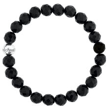 Bracelet with Black Onyx & Sterling Silver