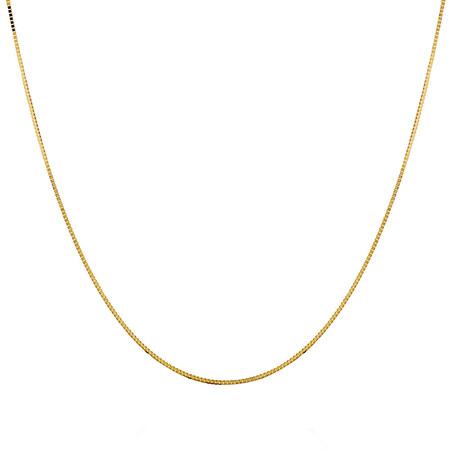 "60cm (24"") Box Chain in 10ct Yellow Gold"