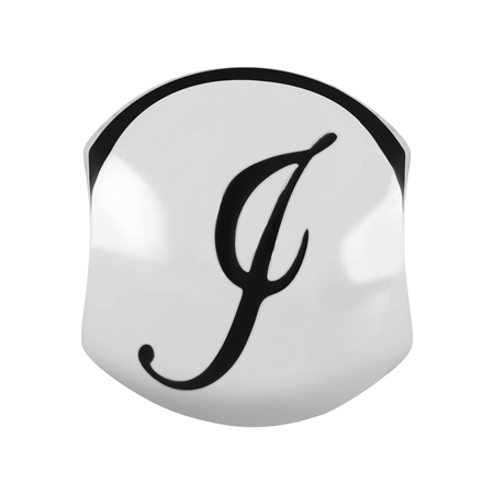 Sterling Silver 'I' Charm