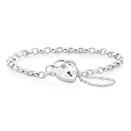 Baby Belcher Bracelet in Sterling Silver