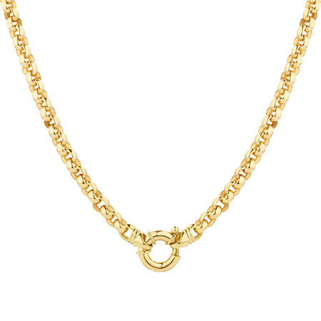 """45cm (18"""") Solid Belcher Chain in 10ct Yellow Gold"""