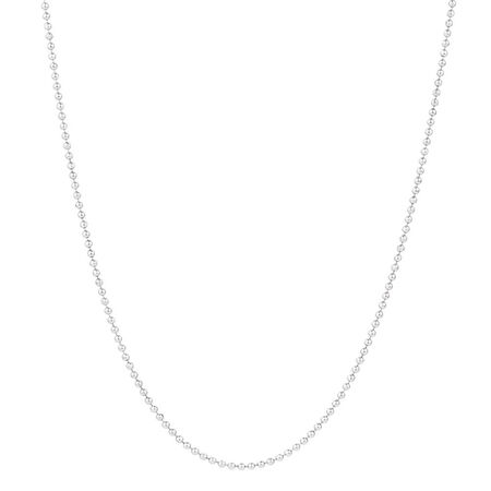 "80cm (32"") Ball Chain in Sterling Silver"