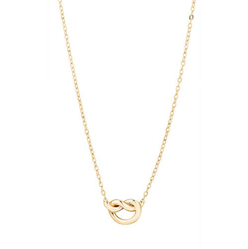 Knot Necklace in 10ct Yellow Gold