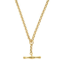 "45cm (18"") Belcher Fob Chain in 10ct Yellow Gold"