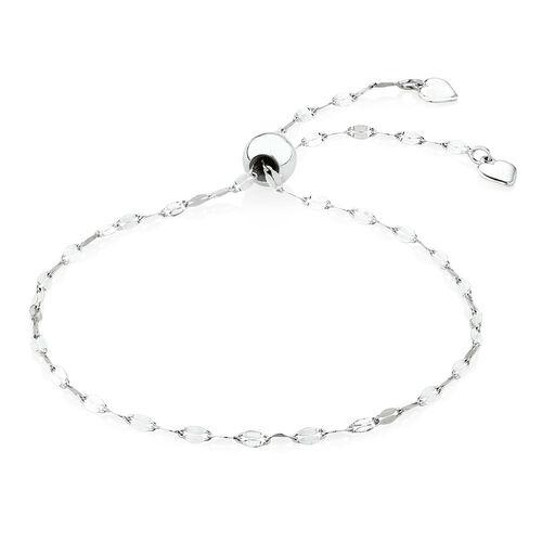 Sterling Silver Fancy Bolo Bracelet