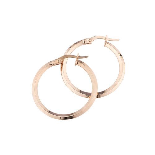 Hoop Earrings in 10ct Rose Gold