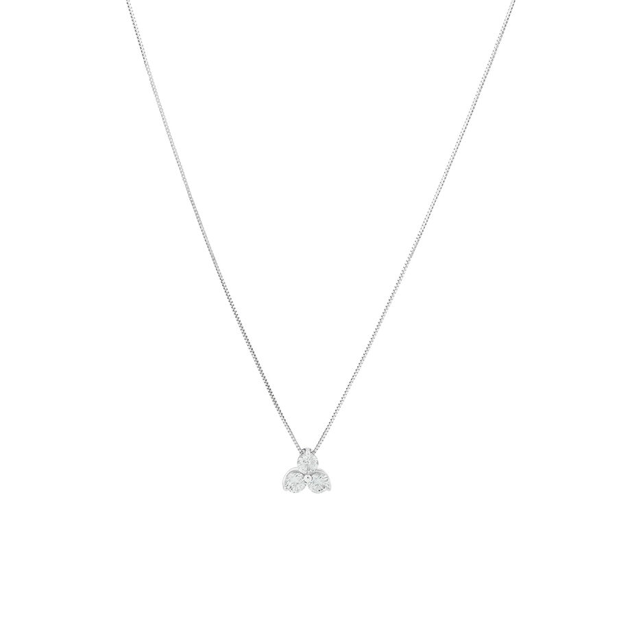 Pendant with 0.45 Carat TW Of Diamonds in 10ct White Gold
