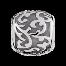 Sterling Silver Leaf Filigree Charm