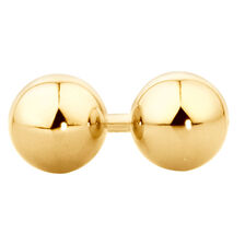 5mm Ball Stud Earrings in 10ct Yellow Gold