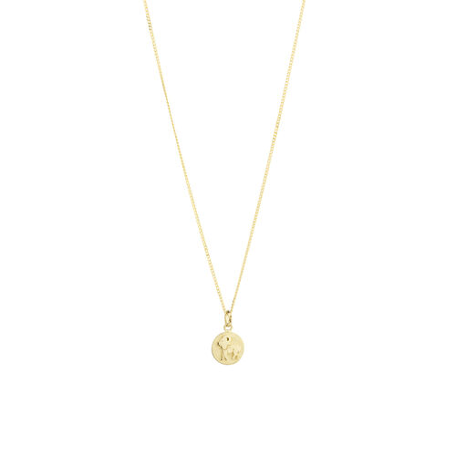 Aries Zodiac Pendant in 10ct yellow Gold