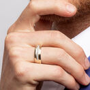 Men's Ring with 1/4 Carat TW of Diamonds in 10ct Yellow Gold