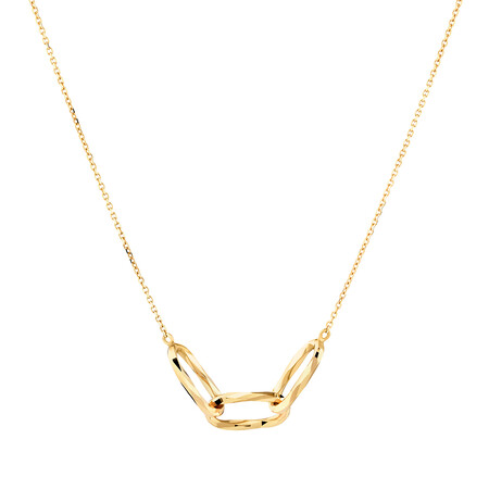 Link Necklace in 10ct Yellow Gold