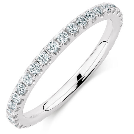 Sir Michael Hill Designer GrandAria Wedding Band with 1/2 Carat TW of Diamonds in 14ct White Gold