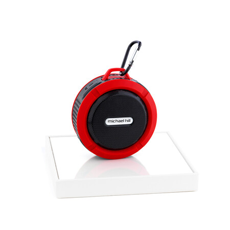 Red Bluetooth Mini Speaker