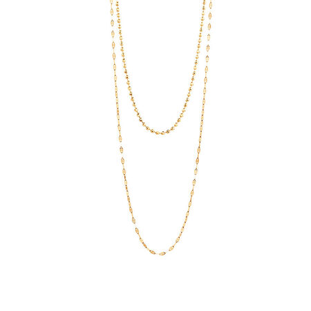Multistrand Necklace in 10ct Yellow Gold