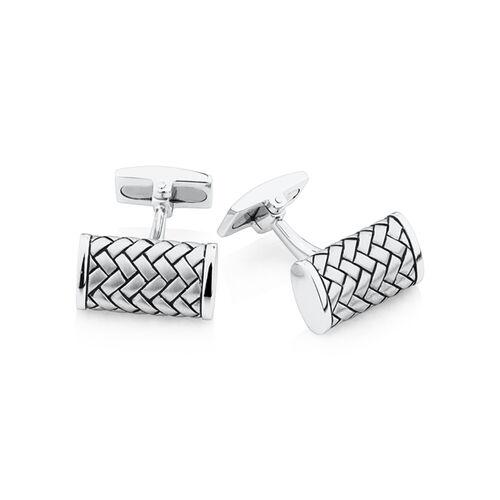 Cuff Links in Sterling Silver