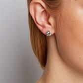 Stud Earrings in Sterling Silver