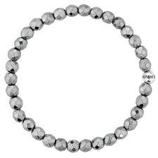 Bracelet with Hematite & Sterling Silver