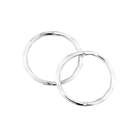 14mm Sleepers in Sterling Silver