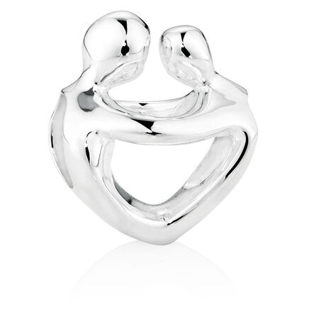Sterling Silver Mother & Child Charm