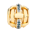 Enhanced Blue Diamond Set Marrakesh Charm