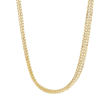 """45cm (18"""") Fancy Chain in 10ct Yellow Gold"""