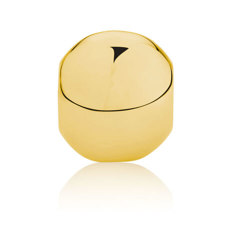 Round Charm in 10ct Yellow Gold