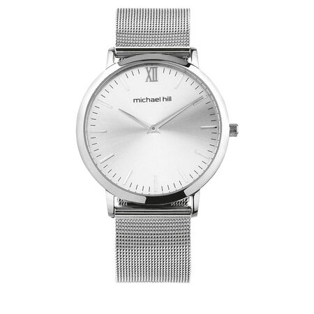Ladies Mesh Watch in Stainless Steel