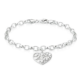 Tree of Life Bracelet in Sterling Silver