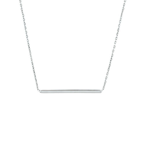 Bar Necklace in Sterling Silver