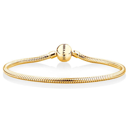 Charm Bracelet in 10ct Yellow Gold