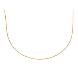 """55cm (21.5"""") Curb Chain in 10ct Yellow Gold"""